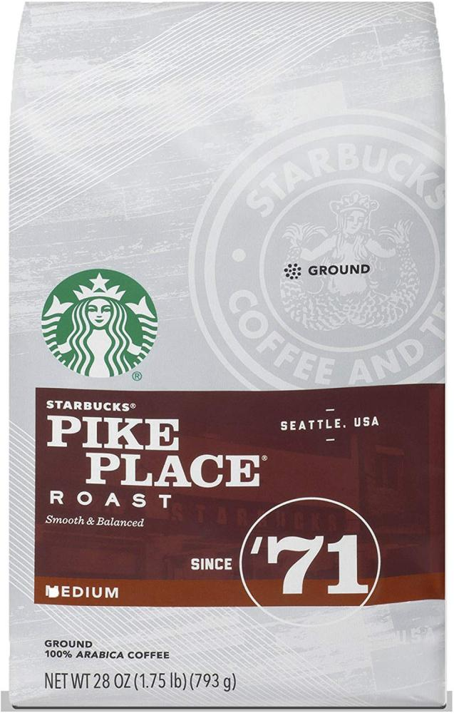 Starbucks Pike Place Roast Medium Ground 793g