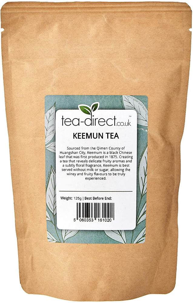 Tea Direct Keemun Loose Leaf Tea 125g