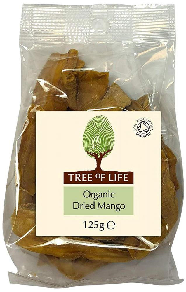 Tree Of Life Organic Dried Mango 125g