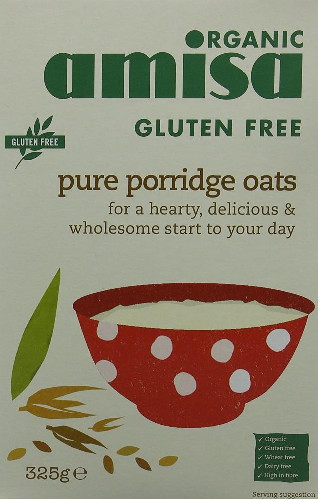 Amisa Gluten Free Porridge Oats 325g