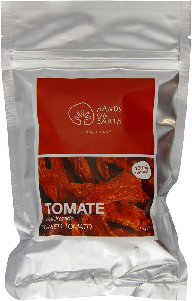 Hands on Earth Dried Tomato Bag 50g