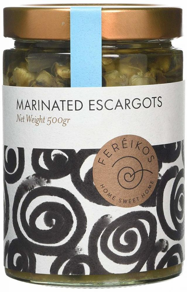 Fereikos Marinated Escargots 500g