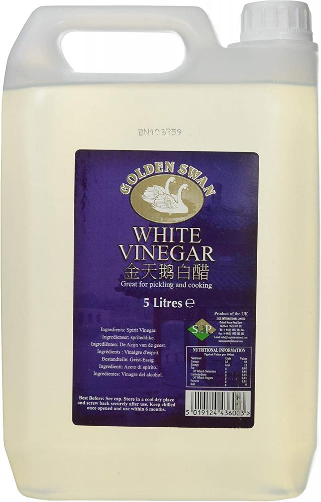 Golden Swan White Vinegar for Pickling Marinating And Cooking 5L