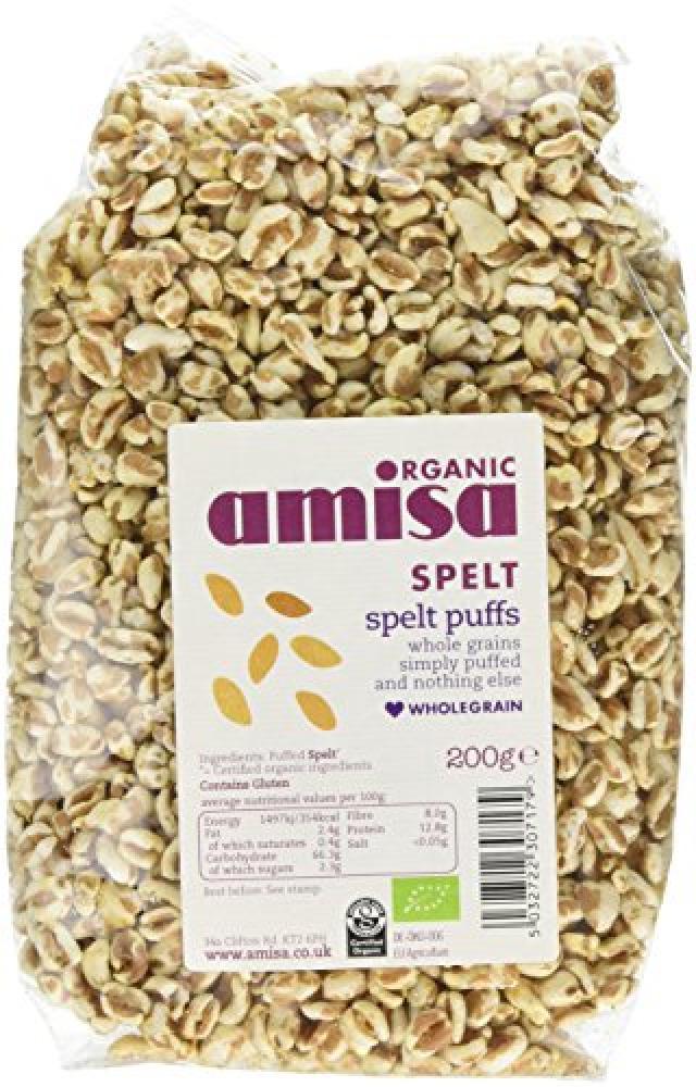 Amisa Organic Spelt Puffs 200 g