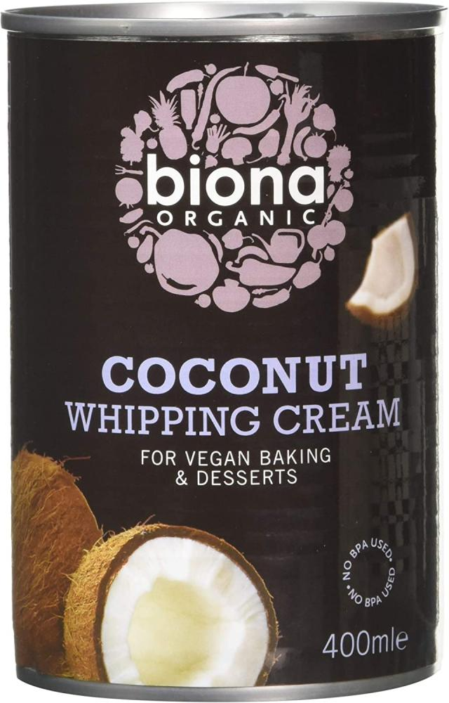 Biona Organic Coconut Whipping Cream 400 ml