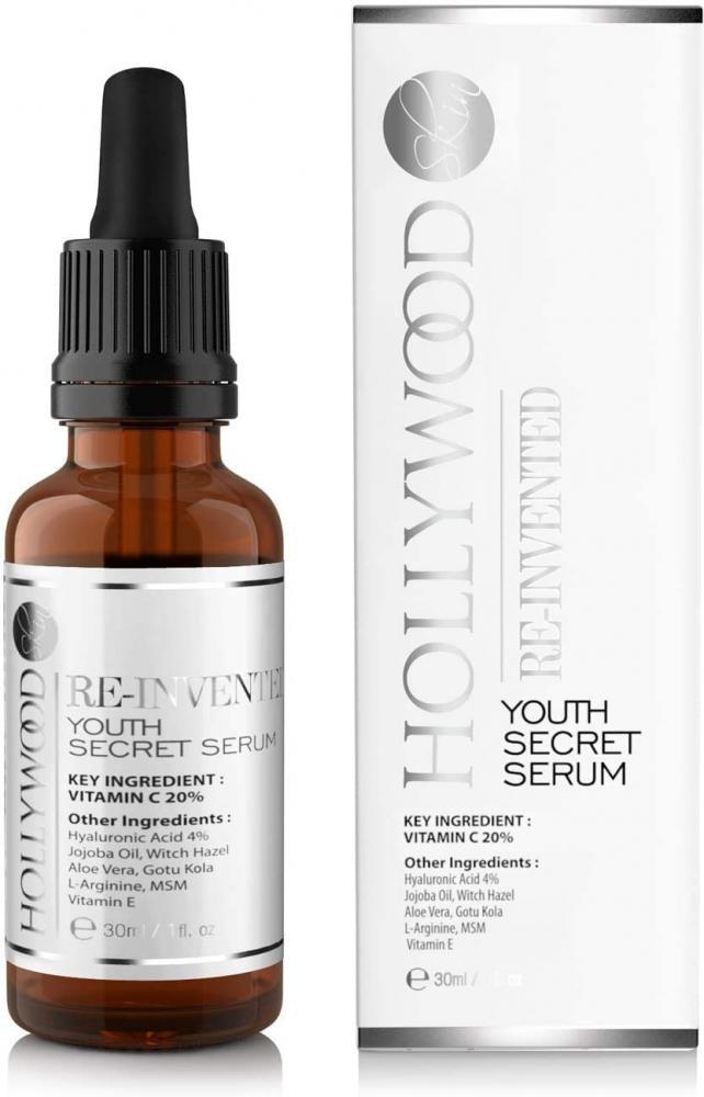 Hollywood Skin Youth Secret Serum Vitamin C and Hyaluronic Acid 30ml