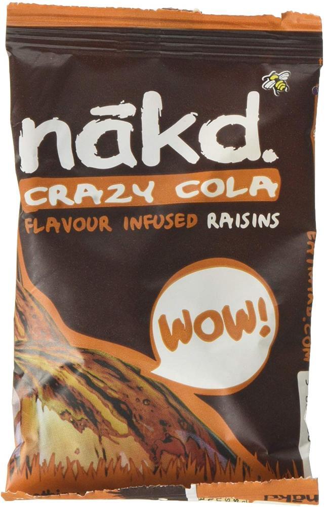 Nakd Crazy Cola Flavour Infused Raisins 25 g