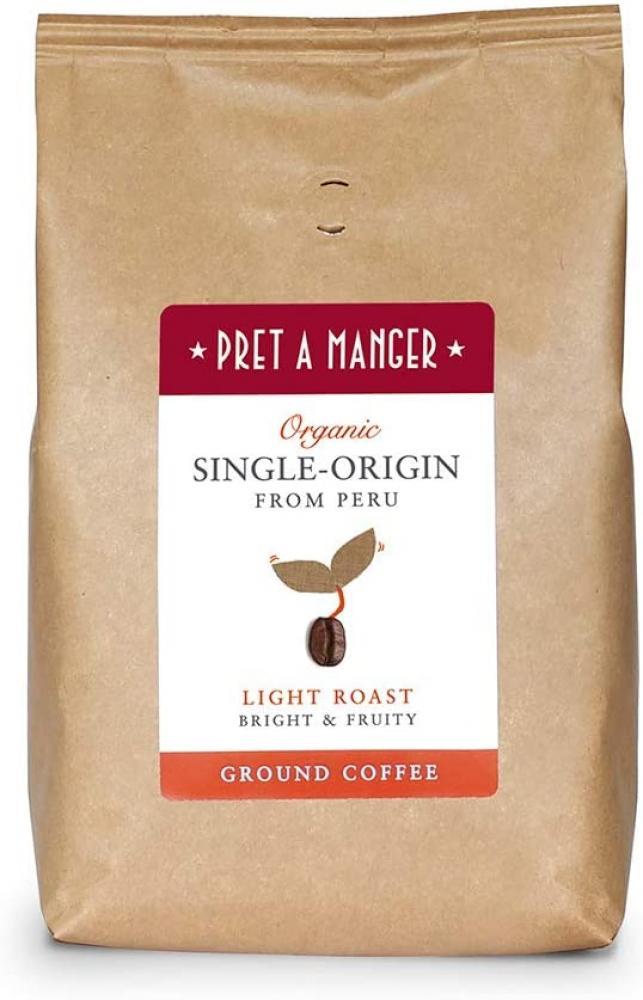 Pret A Manger Organic Single Origin Peruvian Ground Coffee 500 g