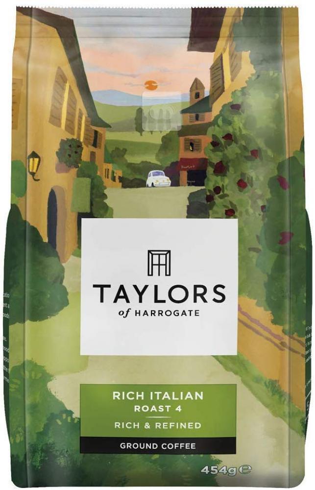 Taylors Of Harrogate Rich Italian Ground Coffee 454g