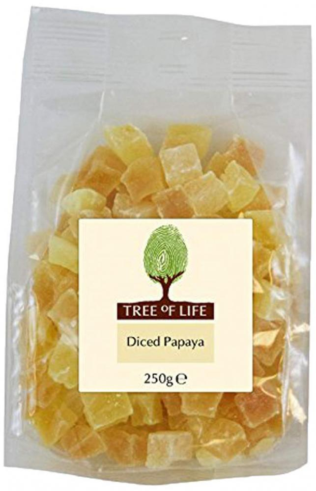 Tree Of Life Diced Papaya 250g