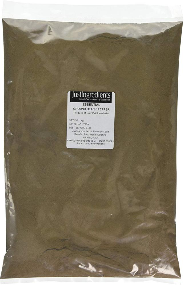 JustIngredients Essentials Ground Black Pepper 25kg