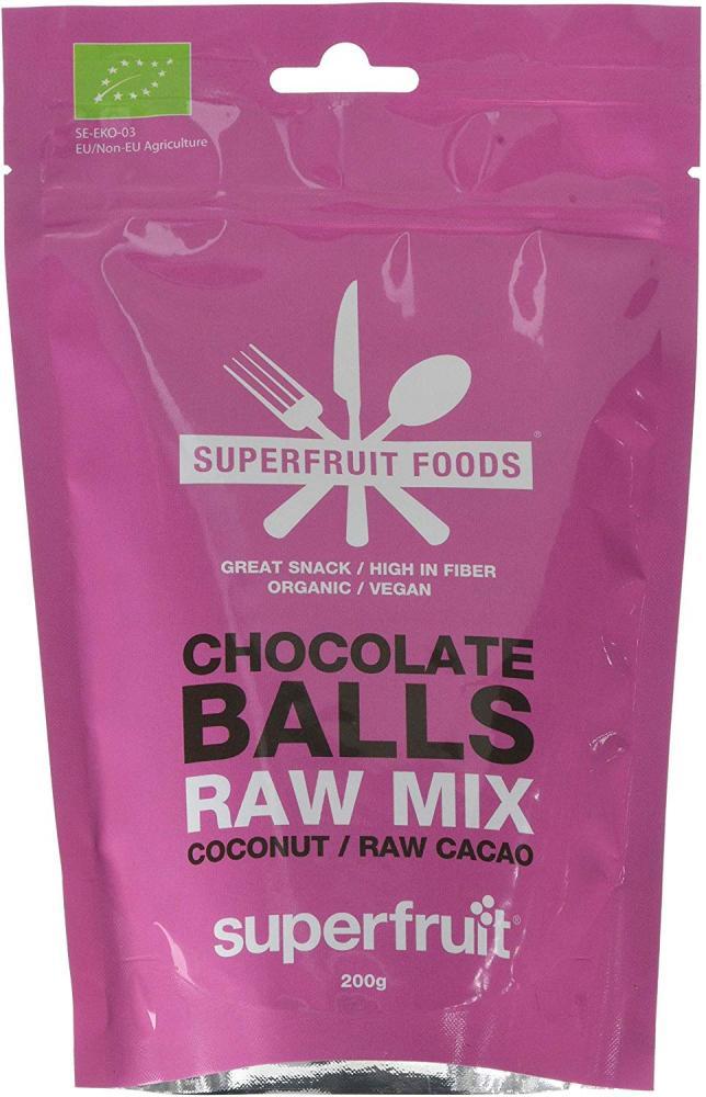 Superfruit Foods Raw Mix Chocolate Balls 200g