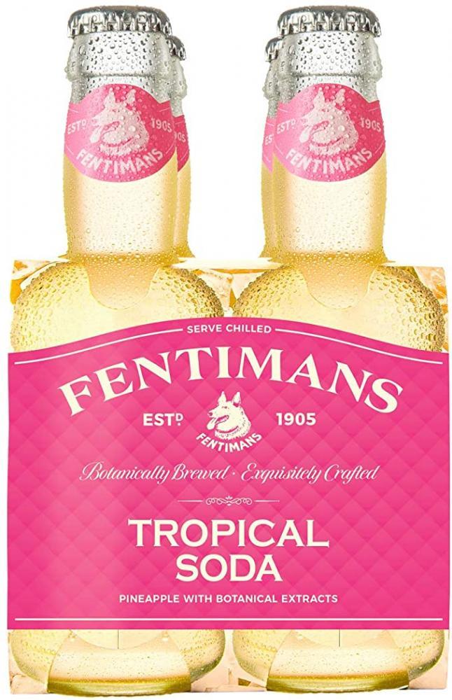 Fentimans Tropical Soda 4 x 200ml