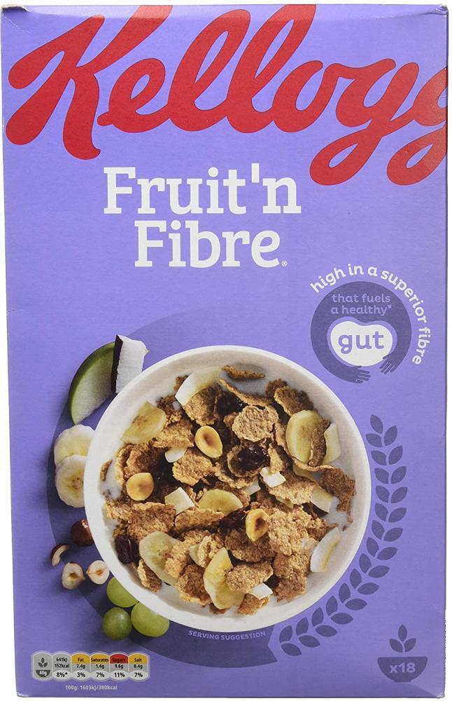 Kelloggs Fruit N Fibre Original Cereal 750g Damaged Box