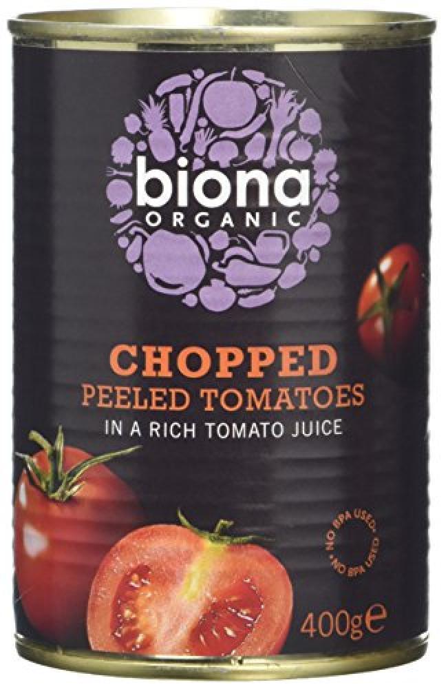 WEEKLY DEAL  Biona Organic Organic Chopped Tomatoes 400 g