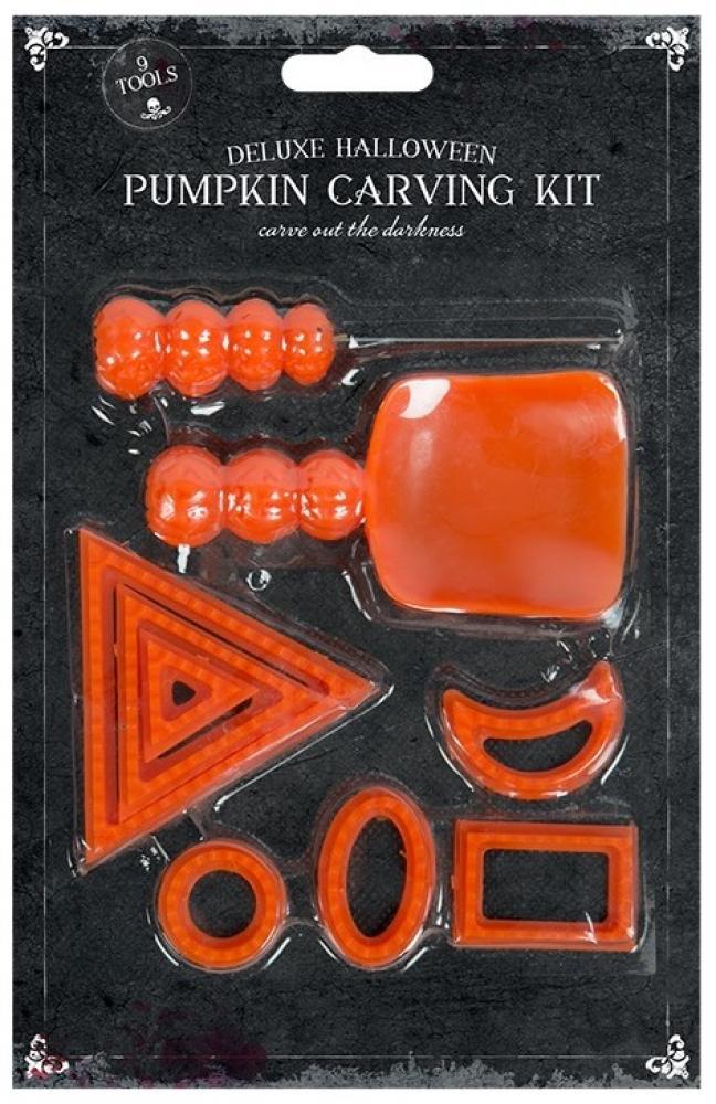 Deluxe Halloween Pumpkin Carving Kit