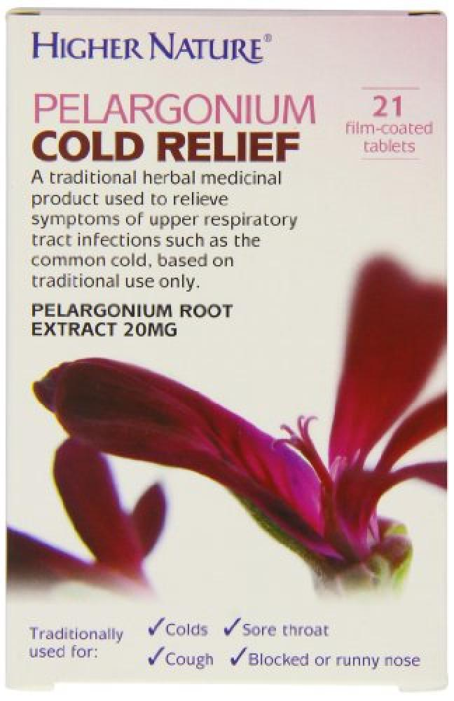 Higher Nature Higher Nature Pelargonium Cold Relief