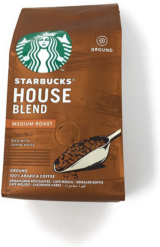 SALE  Starbucks House Blend Medium Roast Ground Coffee 200 g