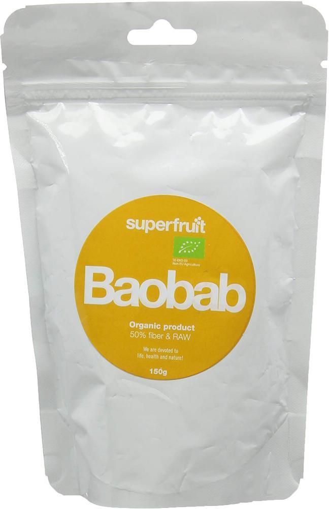 Superfruit Organic Baobab Powder 150g