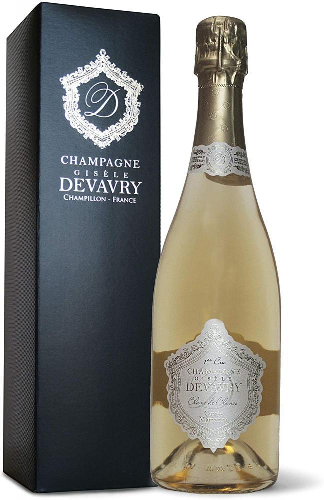 Devavry Champagne Cuvee Marianne Blanc De Blancs 75 cl Damaged Box