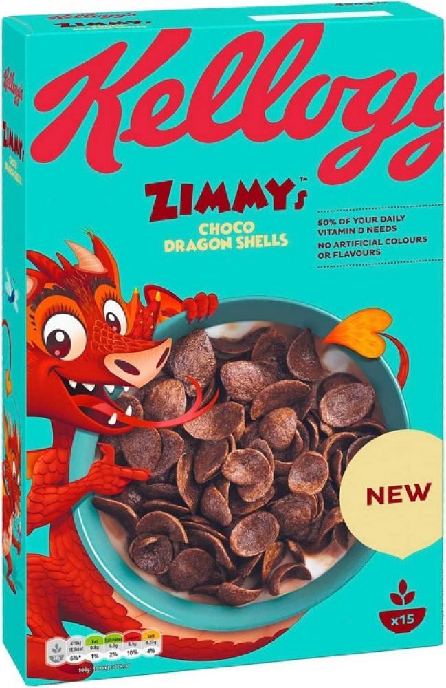 Kelloggs Zimmys Choco Dragon Eggs 375g