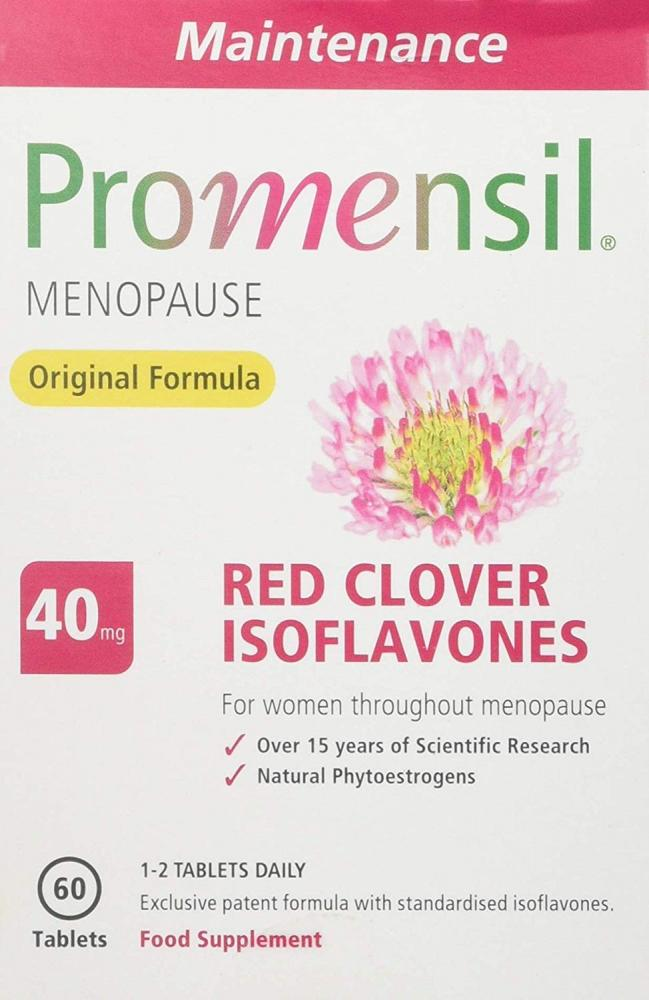 Promensil Menopause Original Maintenance Red Clover Isoflavones 60 Tablets