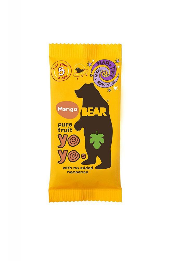 Yoyo Bear Yoyo 100 Percent Fruit Rolls 20 g Mango