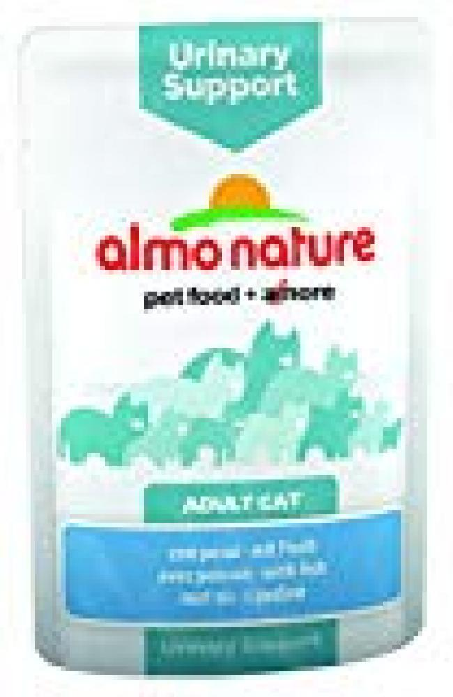 Almo Nature Adult Cat Urinary Support With Fish 70g