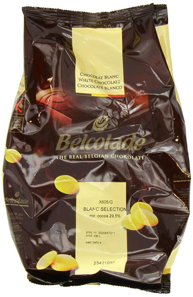 Belcolade The Real Belgian White Chocolate 1 kg