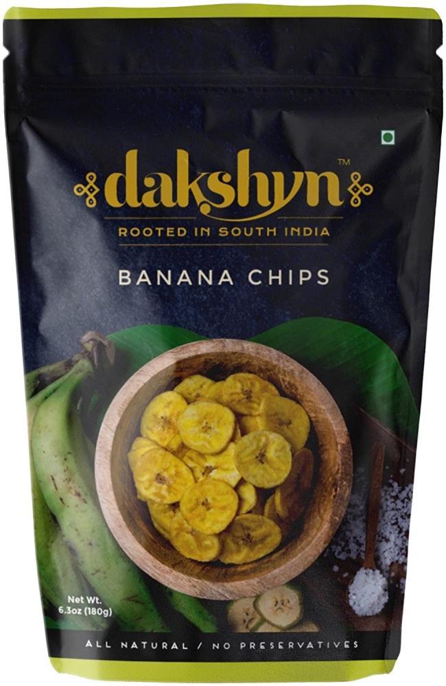 Dakshyn Banana Chips 180 g
