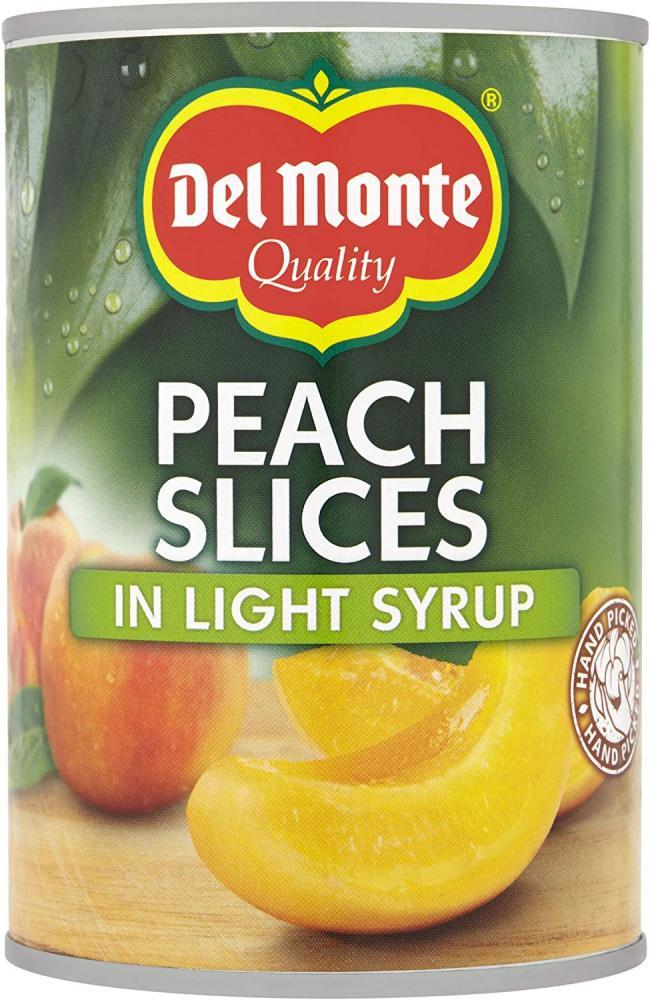Del Monte Peach Slices in Syrup 420 g