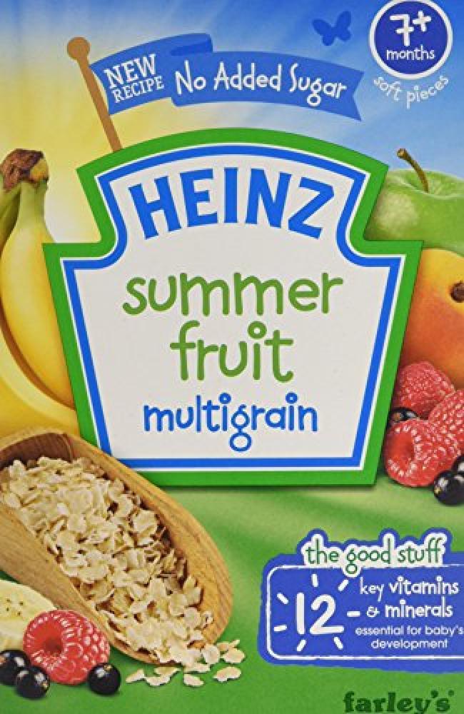 Heinz Multigrain Summer Fruits Cereal 120g