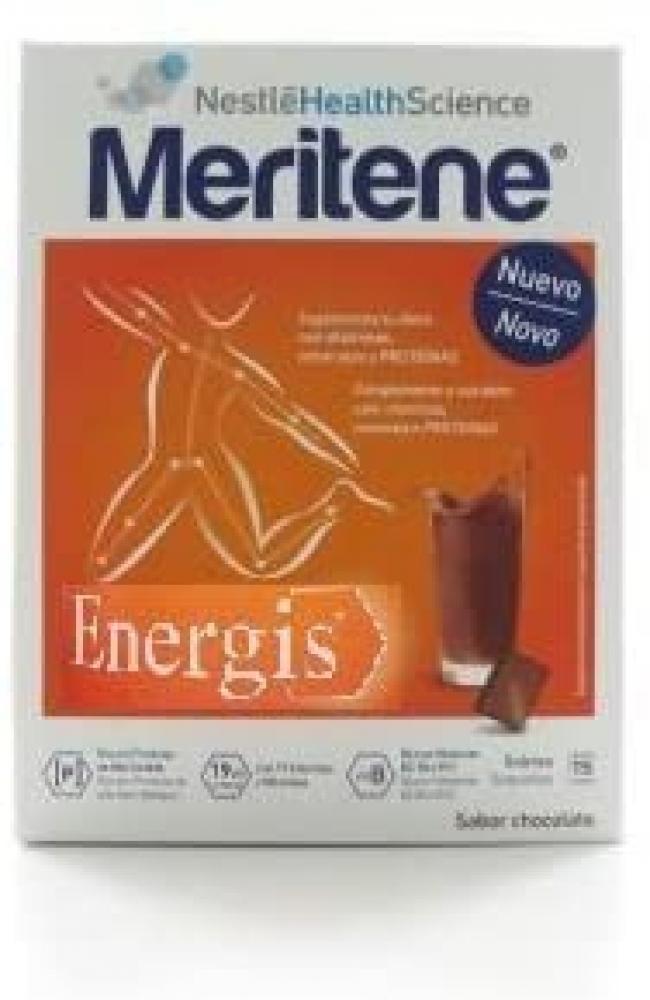 Meritene Energis Chocolate Shake Pack of 15 Damaged Box