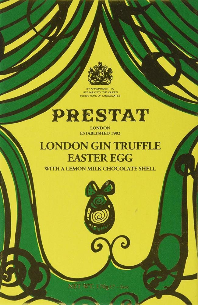 Prestat London Gin Chocolate Truffle Easter Egg 170 g