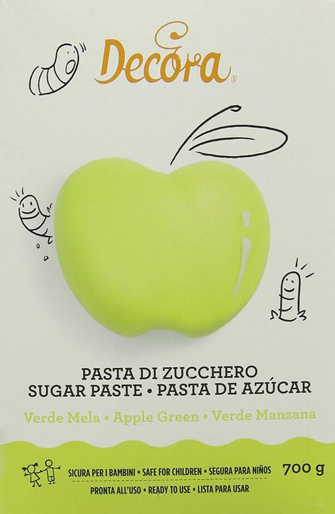 Decora Apple Green Sugar Paste 700g