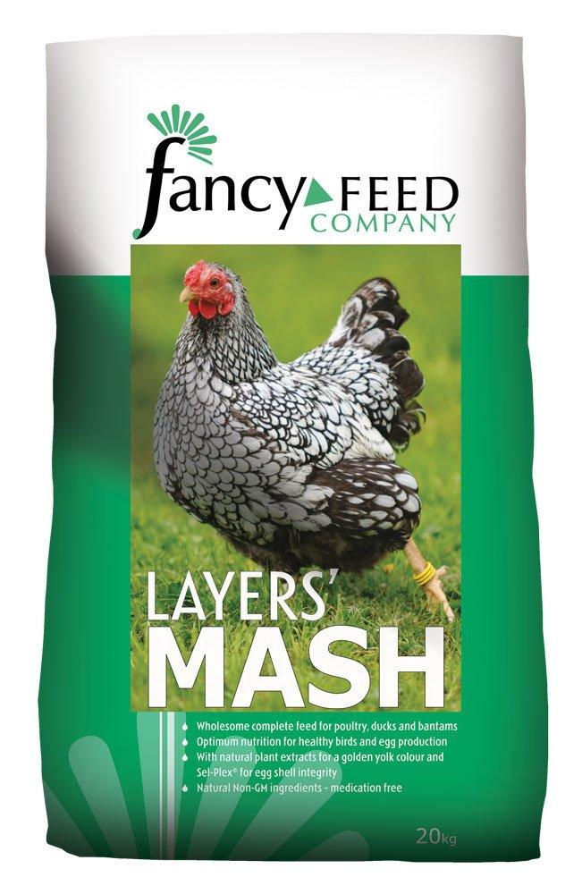 Fancy Feed Company Layers Mash Complete Poultry Feed 20kg