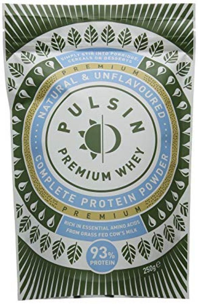 Pulsin Unflavoured Whey Protein Powder 250g