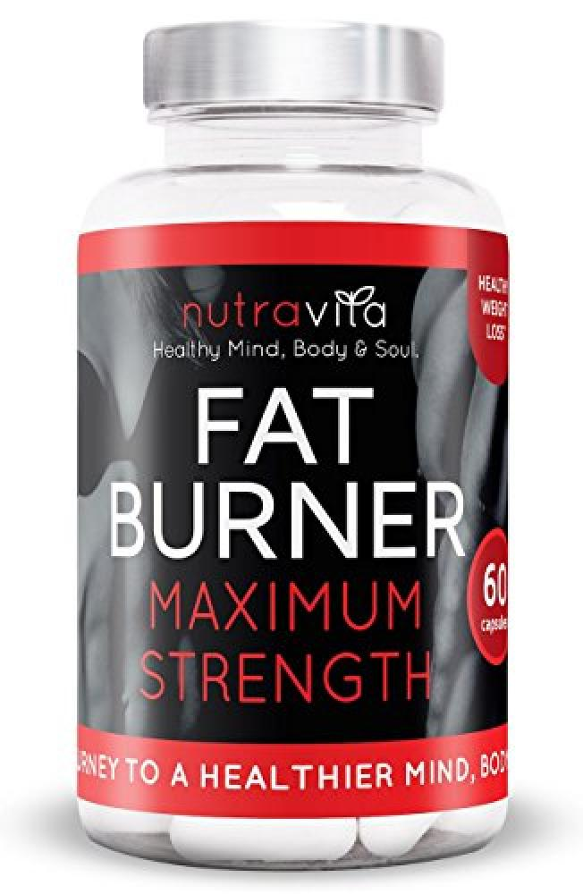 Nutravita Fat Burner Maximum Strength 60 Capsules ...
