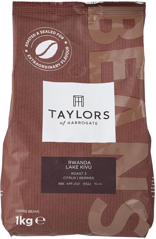 Taylors Of Harrogate Rwanda Lake Kivu Coffee Beans 1 kg