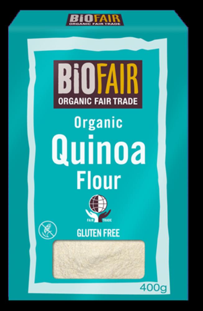 Biofair Organic Fair Trade Quinoa Flour 400 g