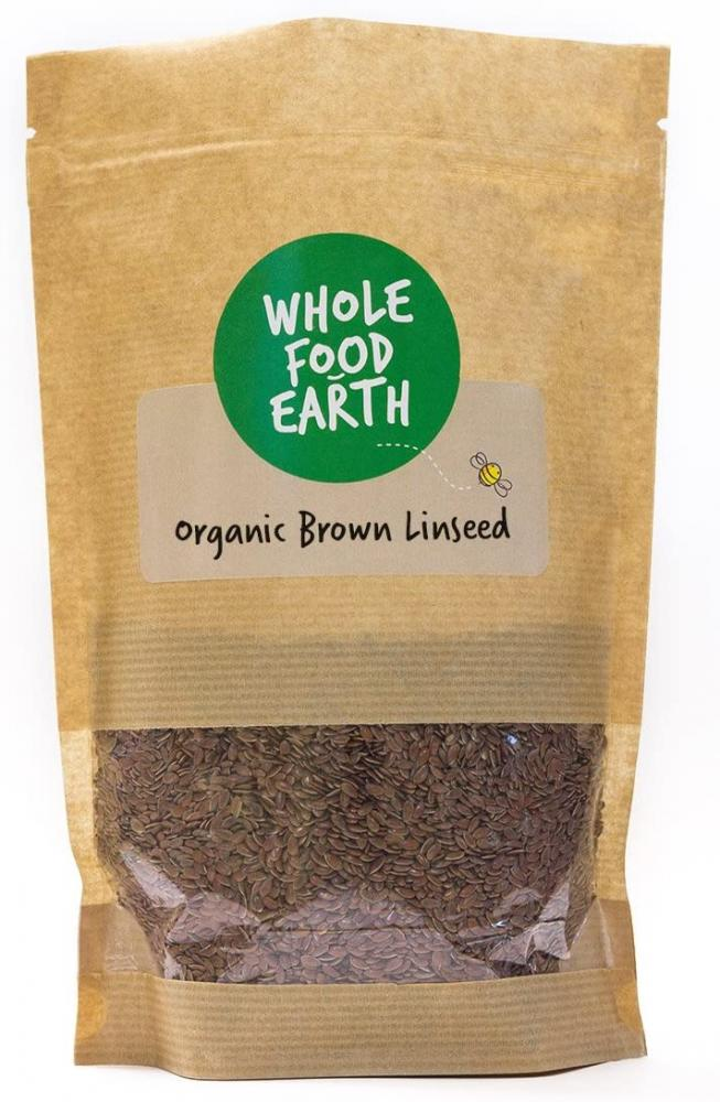 Whole Food Earth Organic Brown Linseed 1kg