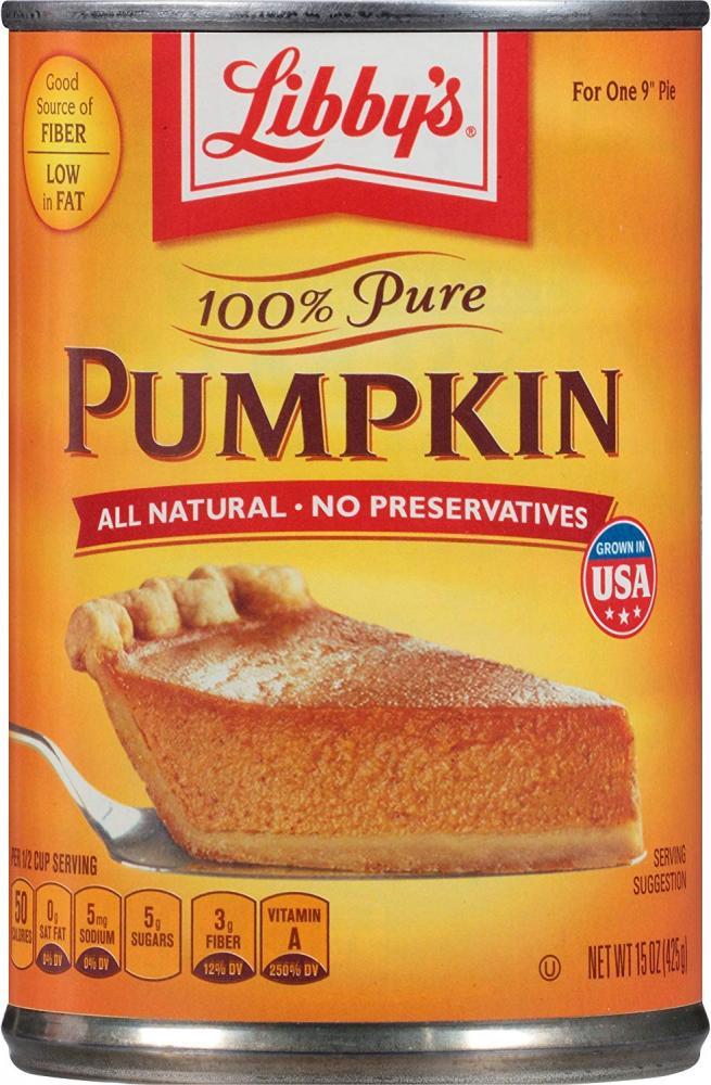 libbys Pure Pumpkin Pie Filling 425g