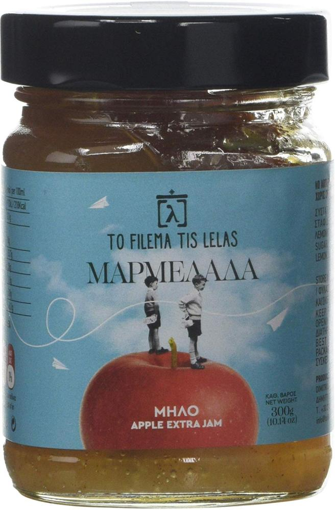 To Filema Tis Lelas Handmade Apple Extra Jam 300g
