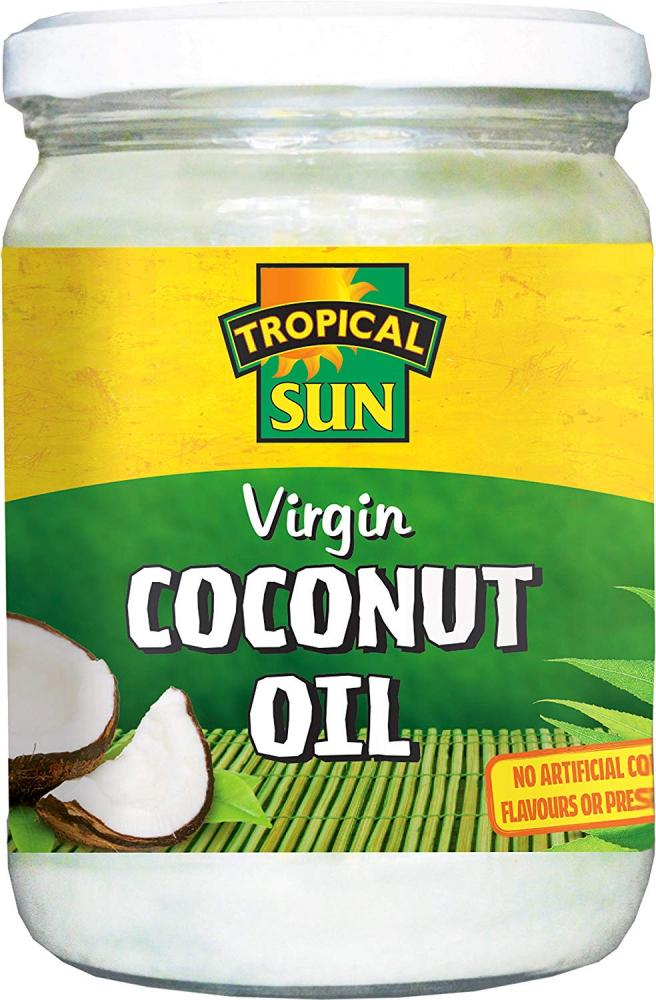 Tropical Sun 100 Percent Pure Cold-Pressed Virgin Coconut Oil 480ml