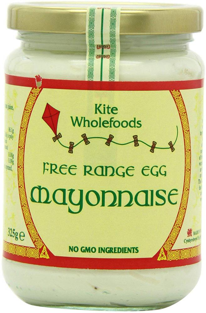 Kite Wholefoods Free Range Egg Mayonnaise 325 g