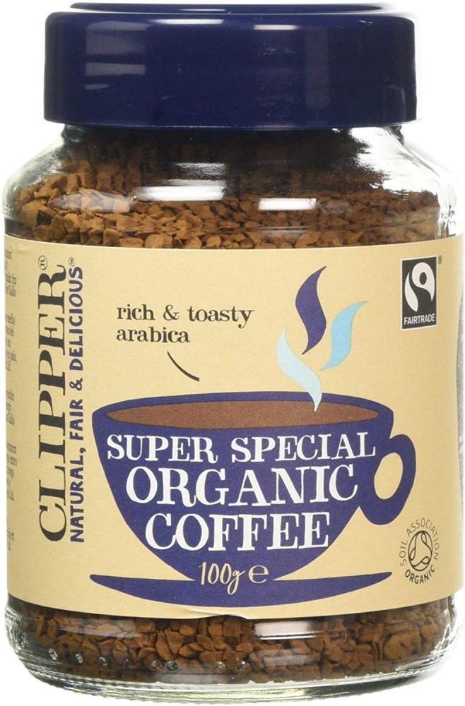 Clipper Organic Medium Roast Arabica Coffee 100g