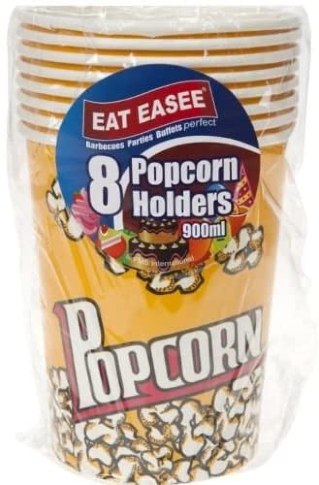Eat Easee 8 x 900ml Popcorn Holders