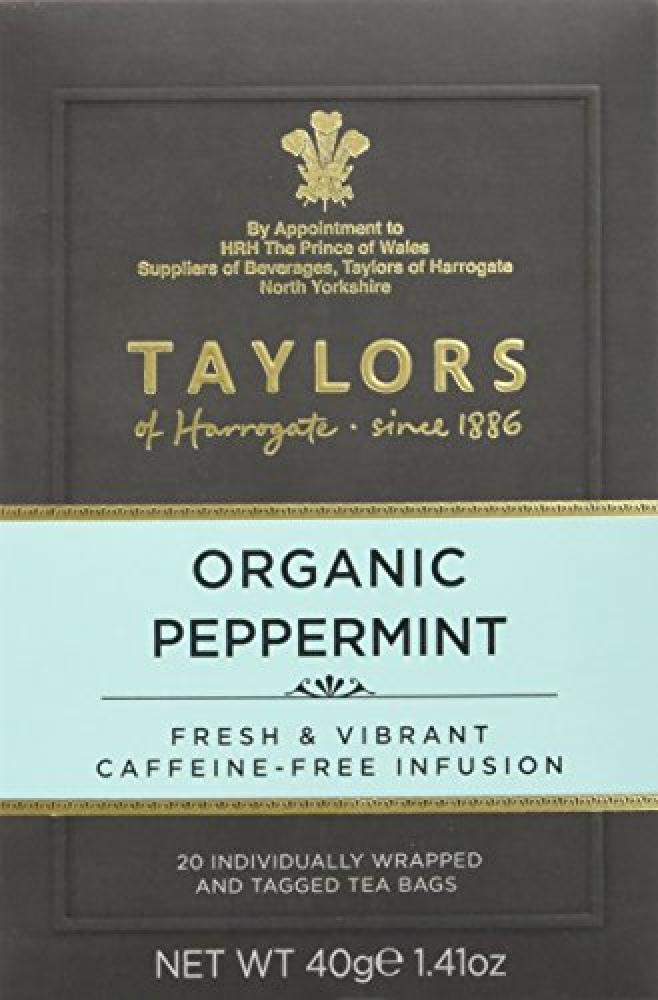 Taylors Of Harrogate Organic Peppermint Tea 20 bags