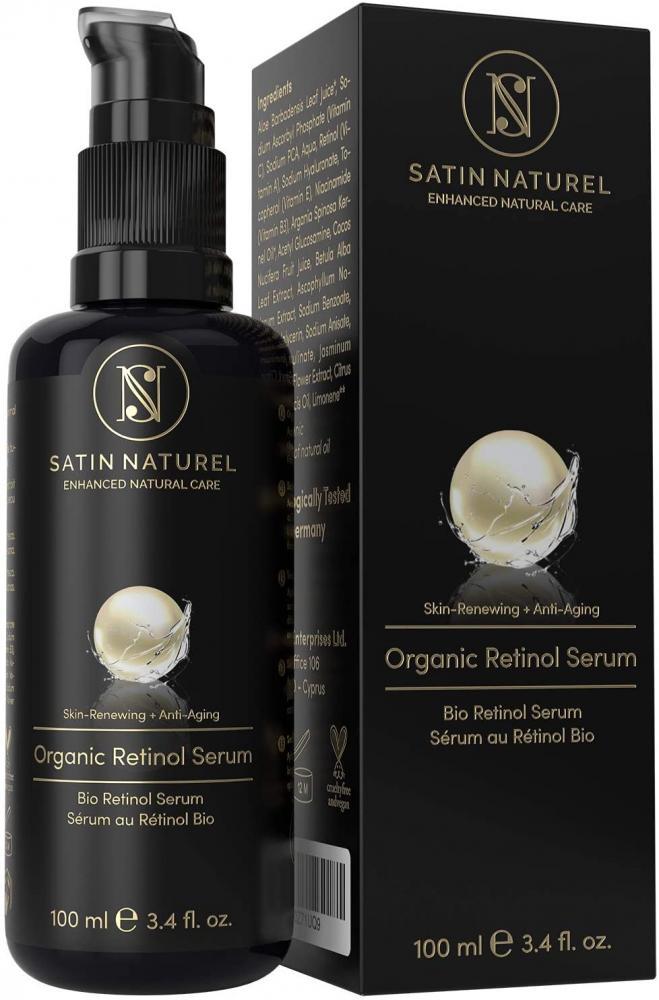 Satin Naturel Retinol Serum Anti-Aging Vegan Skin Care 100ml