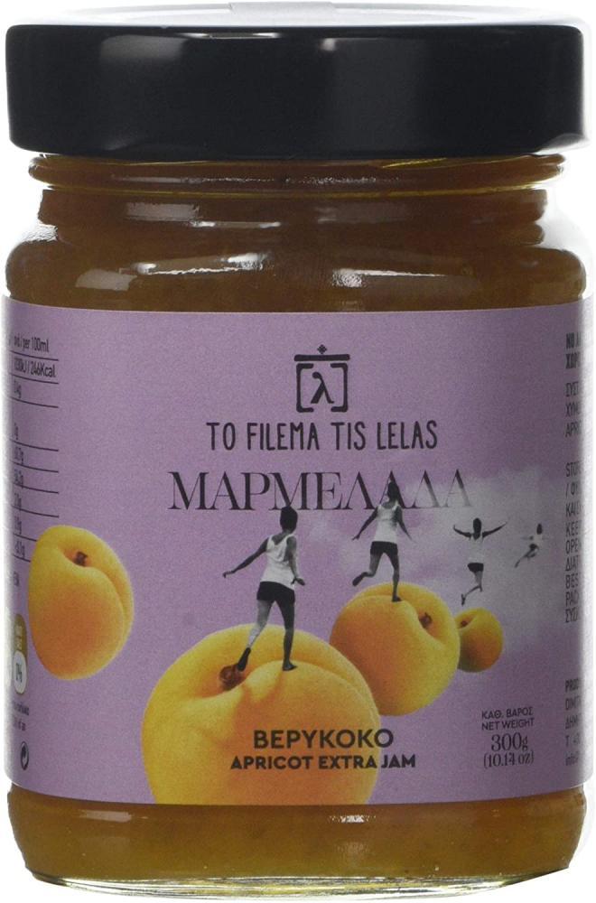 To Filema Tis Lelas Handmade Apricot Extra Jam 300g